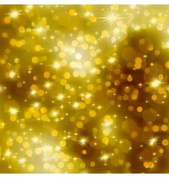 Glittery gold Christmas background EPS 8 vector image vector image