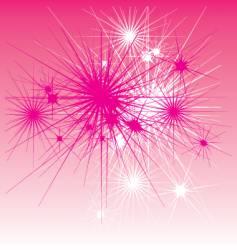 star burst background vector image vector image