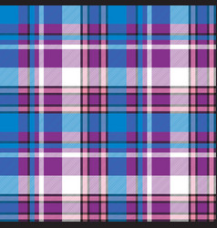 Plaid modern seamless pattern vector
