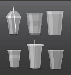 set empty transparent vector image