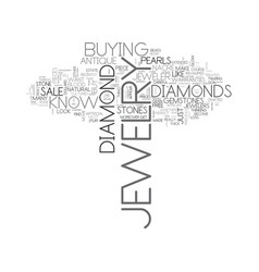 What your jeweler would not want you to know text vector
