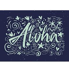Aloha shirts to print vector image