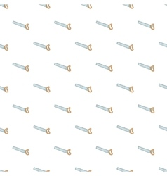 Saw pattern cartoon style vector image