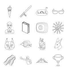 sport security animal and other web icon in vector image vector image