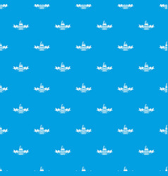 building service pattern seamless blue vector image