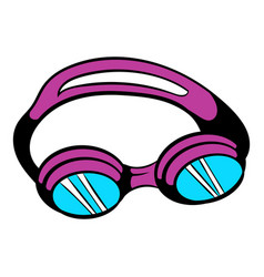 goggles for swim icon icon cartoon vector image