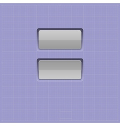 set buttons web element vector image