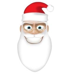 Smiling Santa vector image vector image
