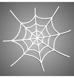 The spiderweb icon vector