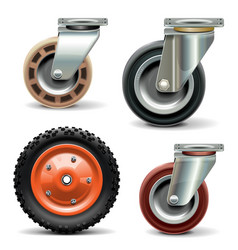 Trolley Wheel vector