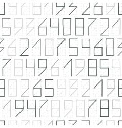 Zip code seamless vector