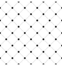 Black veil seamless pattern on white background vector image