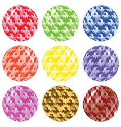 bubbles pattern vector image vector image