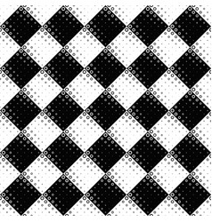 black and white abstract circle pattern background vector image