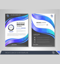 Business poster vector