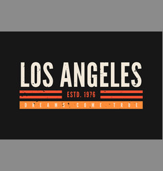 california t-shirt design vintage t-shirt design vector image