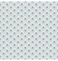 Geometric seamless waves pattern vector image