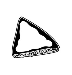 Isolated quesadilla design vector