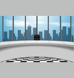News studio city vector