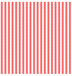 Red white striped fabric texture seamless pattern vector