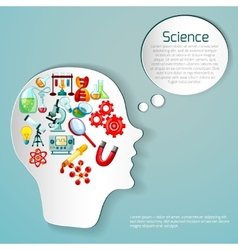 Science Poster vector image vector image