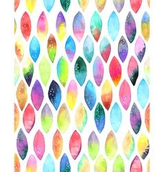 seamless pattern paint splash watercolor drops vector image