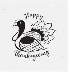 thanksgiving day icon logo vector image