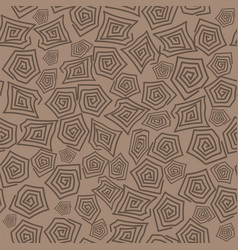 Turtle shell seamless pattern vector
