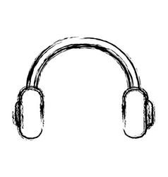 headphones icon image vector image vector image