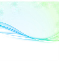 Bright green to blue colorful abstract vector