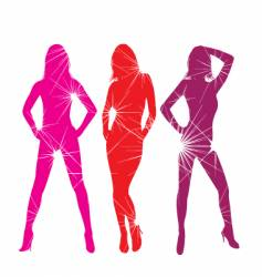 fashion photo shoot vector image vector image