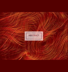 Abstract artistic background with curled lines vector