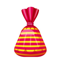 Candy colorful sweet bonbon candy in bright color vector