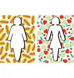 figura fon vector image