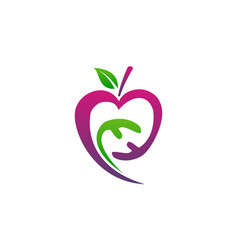 fruit farm foundation vector image