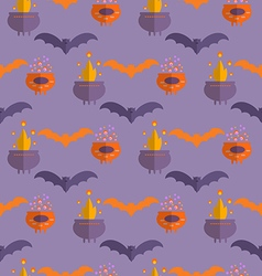 Halloween pattern19 vector image