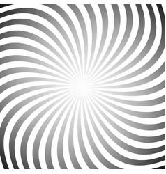 Hypnotic swirl background vector