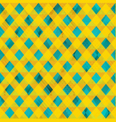 yellow color cloth seamless pattern vector image