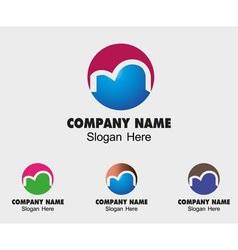 Alphabetical symbol Design Concepts Letter M vector