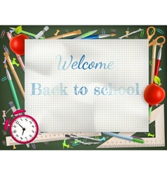 Back to school season sale EPS 10 vector