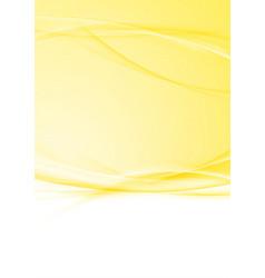 bright modern orange swoosh folder background vector image