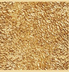 Crumpled gold foil seamless texture vector
