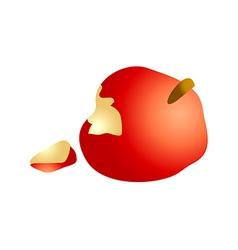 Icon apple vector