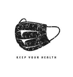 Medical emblem for t-shirt vector