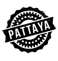 Pattaya stamp rubber grunge vector image
