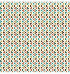 Retro Triangle Pattern vector image