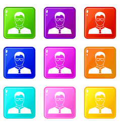 Teacher set 9 vector