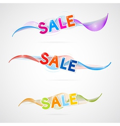 wave sale vector image