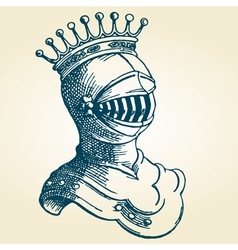 kings armor vector image vector image