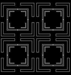 art deco seamless pattern vector image